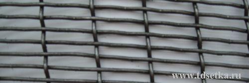 Сетка рифленая с прямоуголнями ячейками